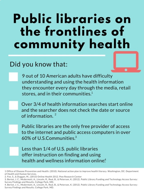 Copy of Libraries on the Frontlines of public Health