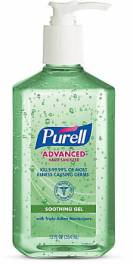 bottle of Purell hand santizer