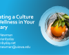 "Title screen of presentation ""Creating a Culture of Wellness in Your Library"" Bobbi Newman, @librarianbyday, librarianbyday.net, bobbi-newman@uiowa.edu"